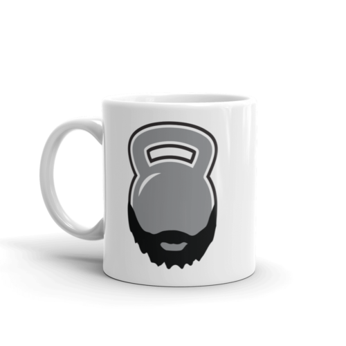 Bearded Kettlebell Mug